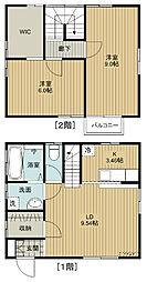 [一戸建] 茨城県つくば市島名 の賃貸【/】の間取り