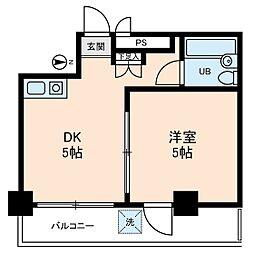 ライブコア中村橋[2階]の間取り