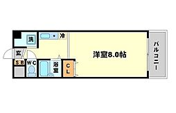 POISSON ROUGE[3階]の間取り