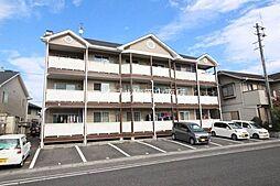 岡山県岡山市南区若葉町の賃貸アパートの外観