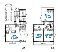 建物参考プラン:間取り/3LDK、延床面積/72.90?、土地建物参考価格/4080万円(税込)\n