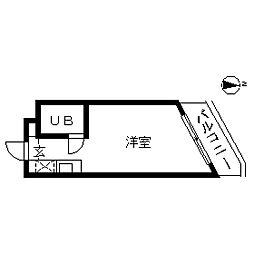 TOP・三軒茶屋第4[0210号室]の間取り