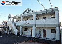 愛知県一宮市木曽川町門間字金屎の賃貸アパートの外観
