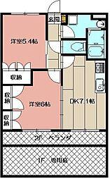 サンタプレイス・yuki[101号室]の間取り