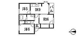 スカイライトハイムB[2階]の間取り