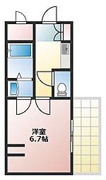 サン藤江[1階]の間取り
