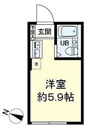 my plan 東高円寺 1階ワンルームの間取り