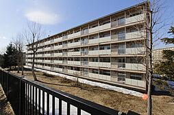 北海道札幌市厚別区もみじ台西3丁目の賃貸マンションの外観