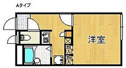 レオパレス箱作ウエスト[1階]の間取り
