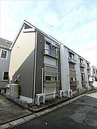 埼玉県草加市吉町1丁目の賃貸アパートの外観