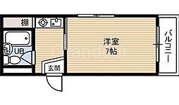 YSコート今福鶴見[8階]の間取り