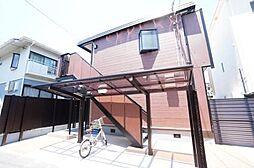 大阪府高槻市明田町の賃貸アパートの外観
