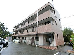 兵庫県神戸市北区有野町有野の賃貸マンションの外観