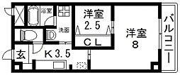 K.Bld[403号室号室]の間取り