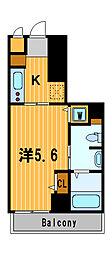 神奈川県横浜市中区長者町9丁目の賃貸マンションの間取り