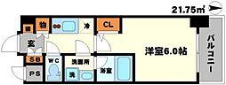 コンフォリア江坂広芝町[10階]の間取り