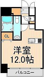 ライジングプレイス浅草[2階]の間取り