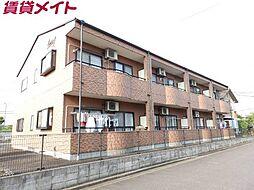 三重県伊賀市平野東町の賃貸アパートの外観