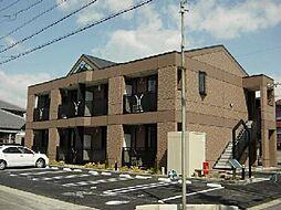 愛知県一宮市常願通6丁目の賃貸アパートの外観