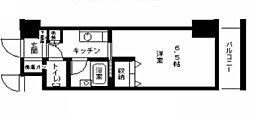 ブランベール甲東園[3階]の間取り