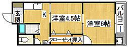 毎弘ビル[3階]の間取り