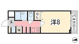 T-BLD神屋町[506号室]の間取り