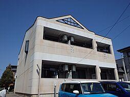 静岡県伊豆の国市原木の賃貸アパートの外観