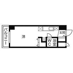 ラメール円山公園[8階]の間取り