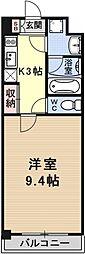 エンゼルプラザ瀬田駅前[1009号室号室]の間取り