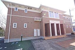 茨城県日立市滑川本町1丁目の賃貸アパートの外観