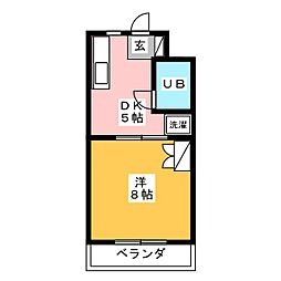 サン・ドマーニ[3階]の間取り