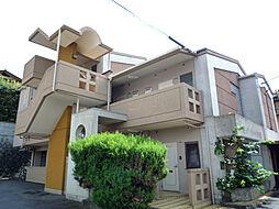 京都府京都市左京区一乗寺釈迦堂町の賃貸マンションの外観