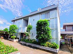 東京都東久留米市南沢2丁目の賃貸アパートの外観