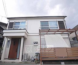 京都府京都市伏見区下鳥羽北三町の賃貸アパートの外観