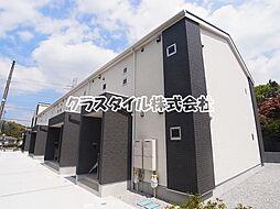 神奈川県川崎市麻生区白鳥1丁目の賃貸アパートの外観