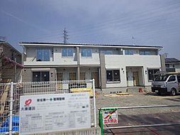 長野県松本市大字島内の賃貸アパートの外観