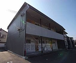 京都府向日市上植野町鴨田の賃貸アパートの外観