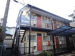 埼玉県鶴ヶ島市大字五味ヶ谷の賃貸アパートの外観