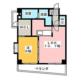 山八第7ビル[5階]の間取り