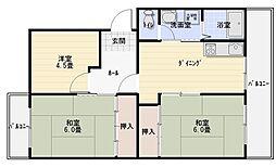 セピアコート山本[4階]の間取り