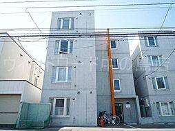 北海道札幌市豊平区美園五条5丁目の賃貸マンションの外観
