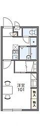 レオパレスYOKOSUKA[2階]の間取り