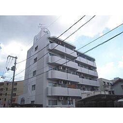 岡山県岡山市北区大供2の賃貸マンションの外観