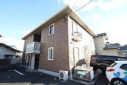広島県広島市東区中山西2丁目の賃貸アパートの外観