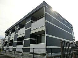 滋賀県高島市新旭町熊野本の賃貸アパートの外観