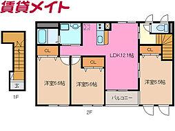 河原田駅 6.6万円