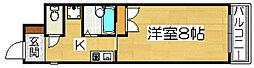 アーバン堺東[5階]の間取り