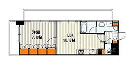 ベラジオ京都清水[3階]の間取り