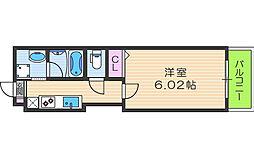 Kalmia北梅田[7階]の間取り