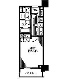 レジディア月島2[3階]の間取り